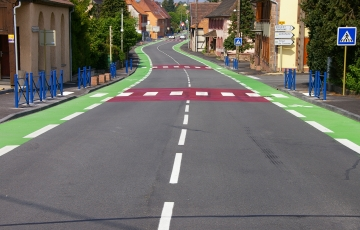 bande cyclable